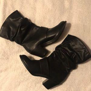 Shoes - Black Boots/ size 8 1/2